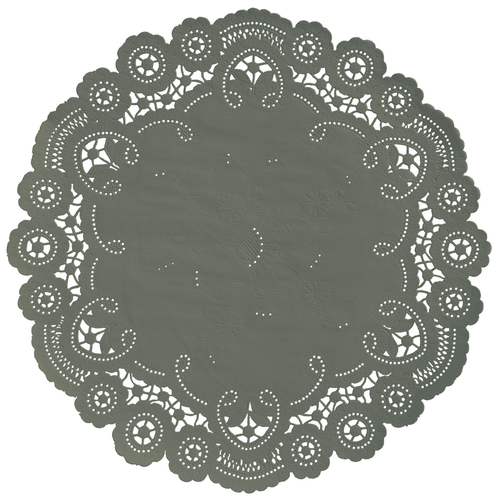 ROSEMARY GREEN French Lace Doilies