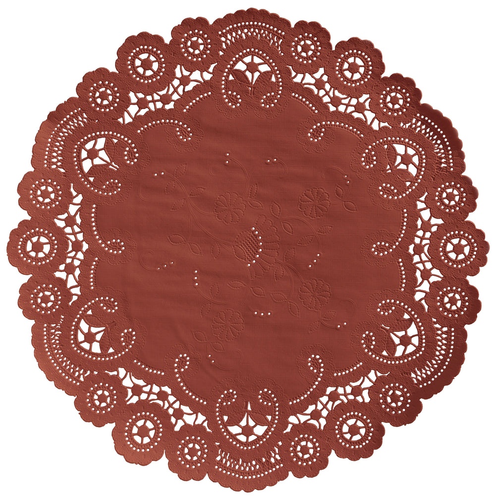 RUST French Lace Doilies