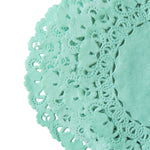 SEAGLASS Green Normandy Doilies