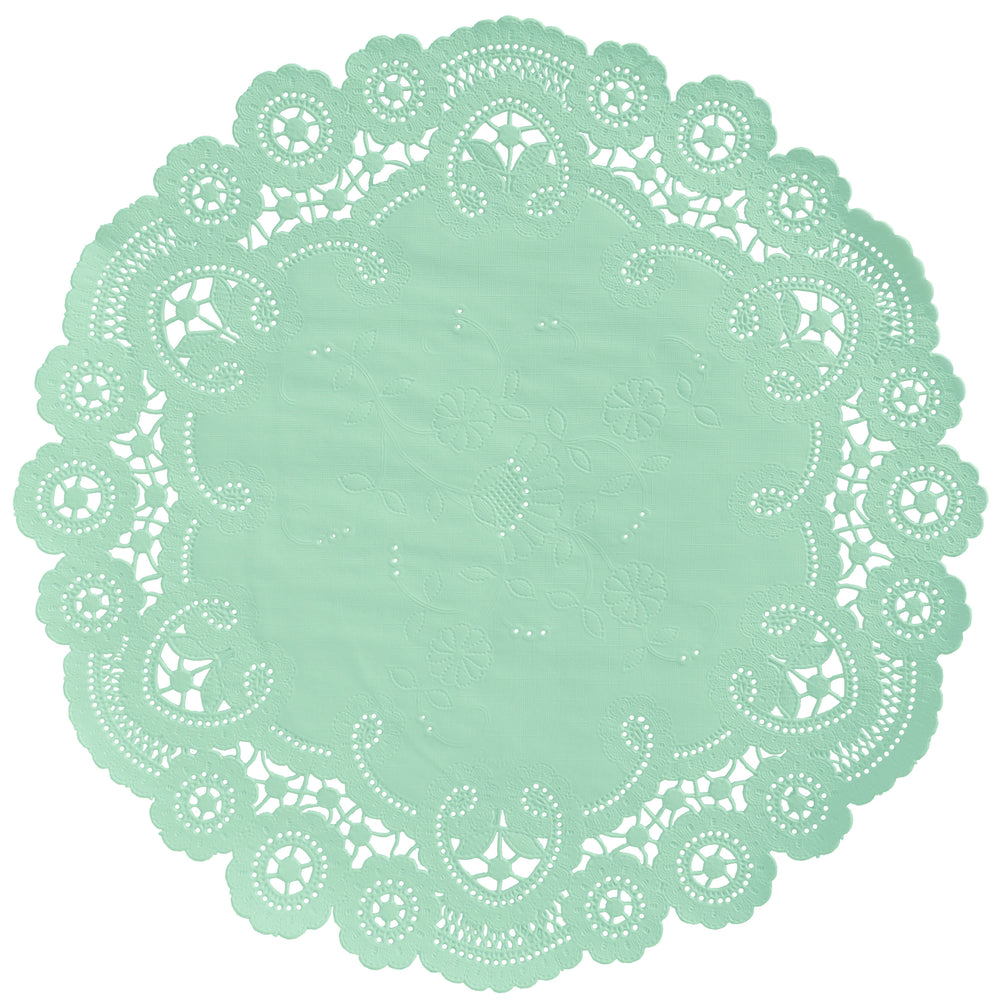 SEA GLASS French Lace Doilies