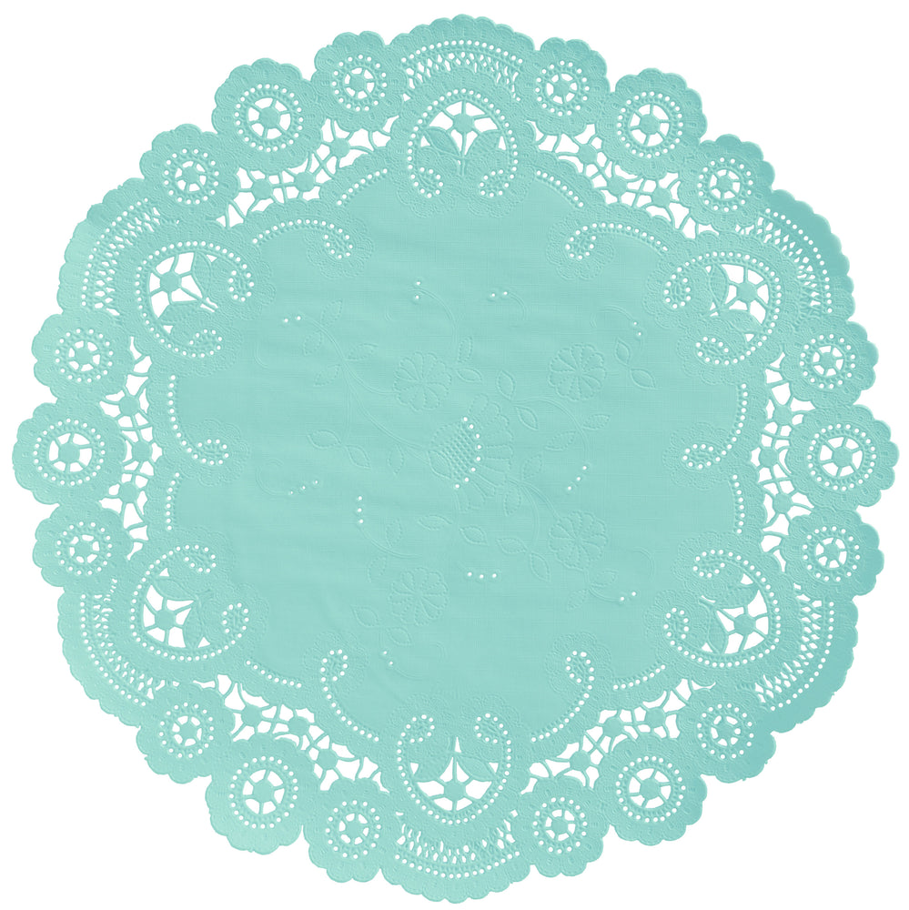 SEAFOAM French Lace Doilies