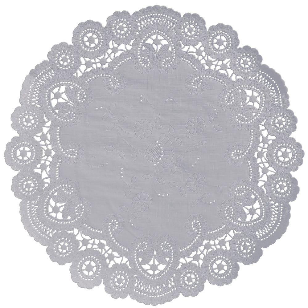 SILVER LINING French Lace Doilies