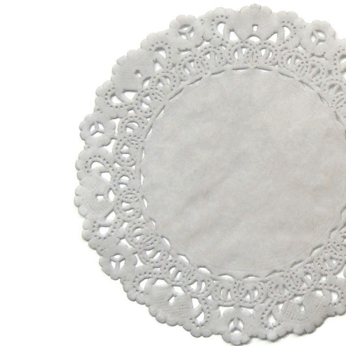 "SLATE LIGHT GRAY Round Paper Doilies | Normandy | Chargers, Placemats, Invitations | 4"", 5"", 6"" 8"", 10"", 12"", 14"", 16"""