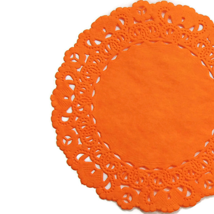 ORANGE Normandy Doilies