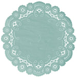 TAME TEAL French Lace Doilies