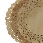 Walnut Tea Stained Normandy Doilies