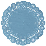 WINDSOR BLUE French Lace Doilies