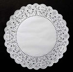 "NORMANDY White Paper Doilies  4"", 6"", 8"", 10"", 12"", 14"", 16"" Round Chargers, Placemats"