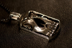 Ace of Spades Dog Tag