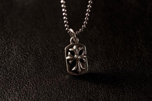 Gothic Cross Mini Dog Tag