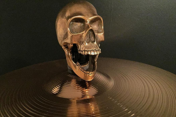 Skull Cymbal Topper