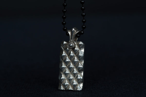 Diamond Dog Tag Pendant