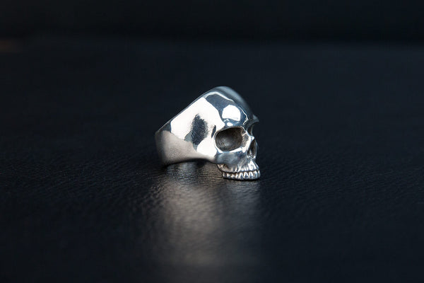 Large Skull Ring-Jawless