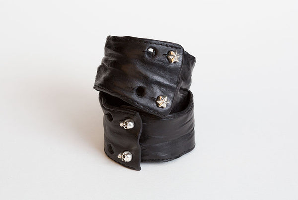 Crushed Leather cuff