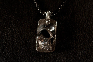 Skull Mini Dog Tag