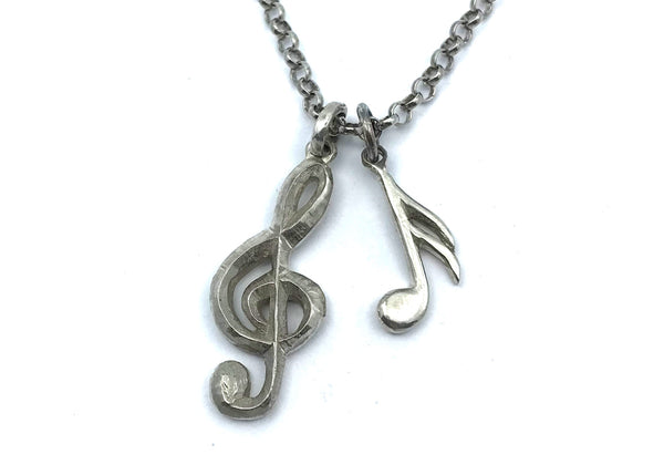 Treble Clef & Note Pendants