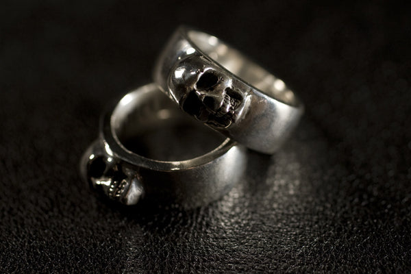 Sideways Skull Ring