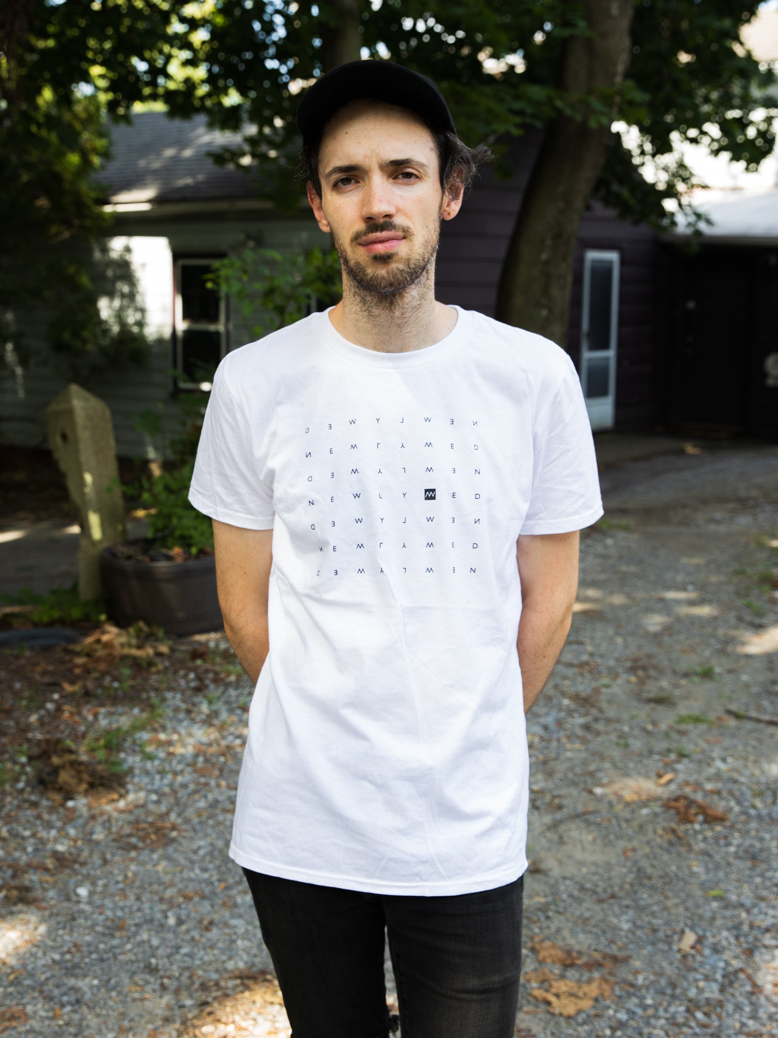 Newlywed Crossword Tee