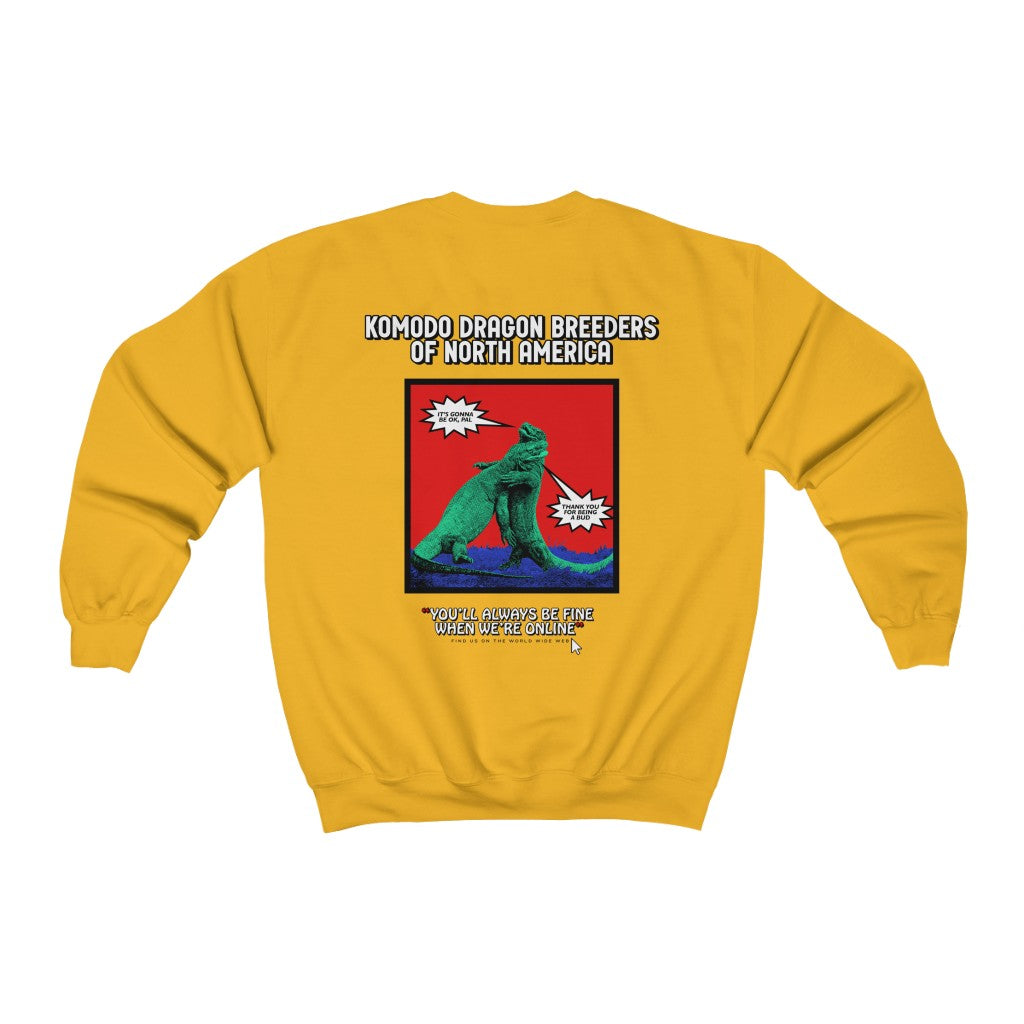 Komodo Dragon Breeders of North America Crewneck
