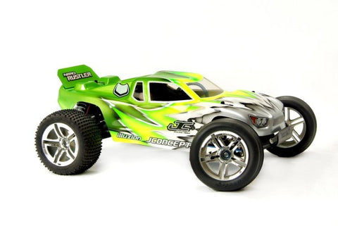 JCONCEPTS 0045 Illuzion Nitro Rustler Hi-Spd Body Clear