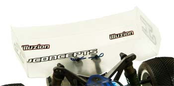 JCONCEPTS 0109 Illuzion 7 Wide High Downforce V Wing Clear