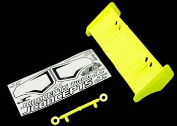 JCONCEPTS 0113Y Illuzion 1/8 Buggy/Truggy Wing Yellow
