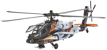 REVELL 04896 1/48 AH-64D Apache 100-Military Aviation *DISC*
