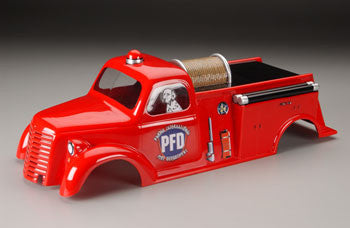 PARMA 10116 1/10 Maxx Fire Truck Body .050 Clear *DISC*