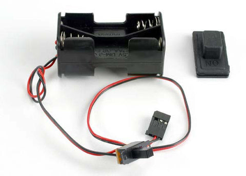 TRAXXAS 1523 Battery Holder w/ On/Off Switch