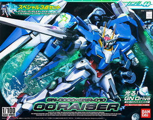 BANDAI 156889 1/100 00 #13 Gundam & O Raiser Set *DISC*