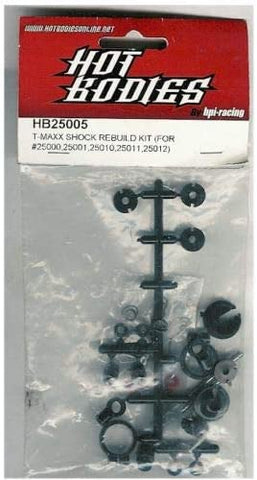 HOT BODIES HPI 25005 25005 T-MAXX Shock Rebuild Kit (25000 25001 25010 25011 25012)*DISC*
