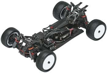 HB RACING 112723 D413 1/10 4WD Buggy '13 Roar Champion Ty Tessma