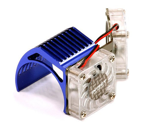 INTEGY 2961BLUE Twin Motor Cooling Fan + Heatsink 540/550