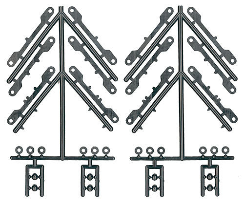 ASSOCIATED 31010 Arm Mount Shims Balls Wheelbase Shims TC4