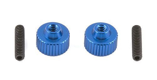 ASSOCIATED 1787 FT Battery Strap Thumbscrews SC10 2WD B4.1 B44.2