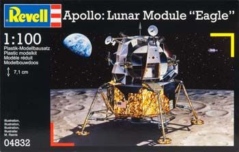 REVELL 04832 1/100 Apollo Lunar Module Eagle