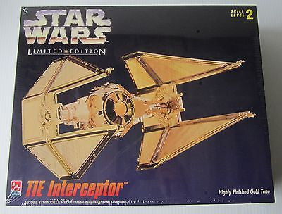 AMT 8770 TIE Interceptor Star Wars Limited Edition *DISC*