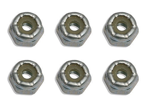 ASSOCIATED 6242 Front Wheel Locknuts 4-40