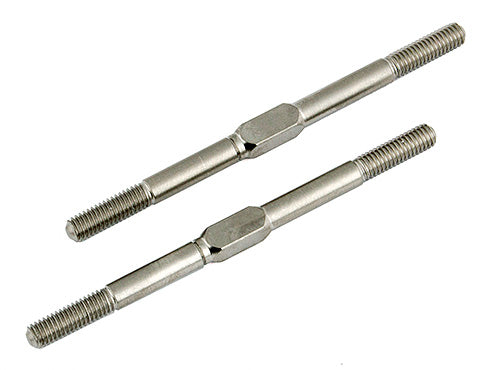 "ASSOCIATED 6263 Turnbuckles 2.06"" 3x52mm Silver"
