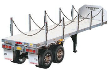 TAMIYA 56306 1/14 Flatbed Semi-Trailer Kit