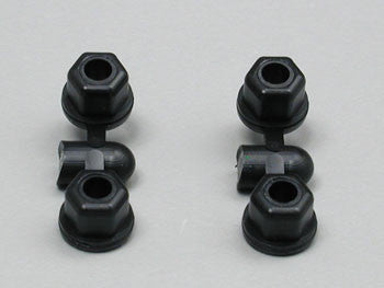 ASSOCIATED 6472 Shock Mount Nuts (4) ASC6472