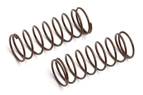 ASSOCIATED 6493 Front Shock Spring Brown (2) ASC6493