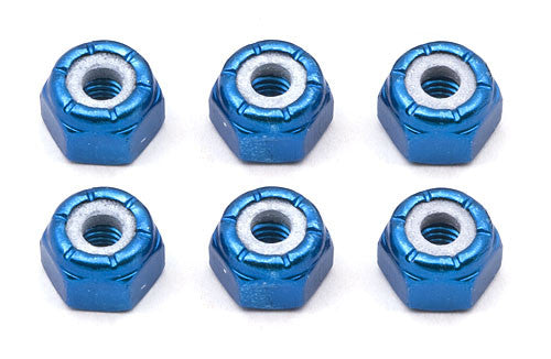 ASSOCIATED 6943 FT Blue 3-32 Locknuts