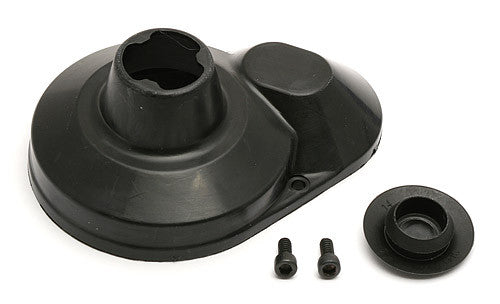 ASSOCIATED 7460 Molded Gear Cover Black ASC7460