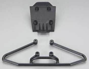 ASSOCIATED 89434 Front Bumper and Skid Plate *DISC*