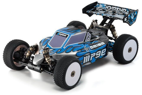 KYOSHO 30877T1B Inferno MP9e TKI ReadySet 4WD Electric Race Spec 1/8 Off Road Buggy w/Syncro 2.4GHz