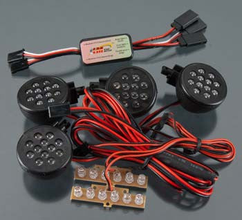 INTEGY BAJ168 Complete LED Light Kit w/KM Type Control Box