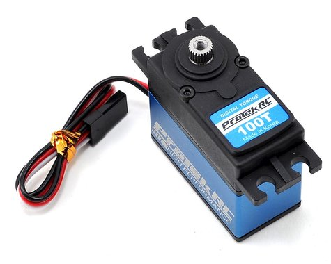 "PROTEK PTK-100T 100T Standard Digital ""High Torque"" Metal Gear Servo"