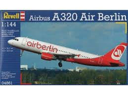REVELL 04861 1/144 Airbus A320 Air Berlin *DISC*