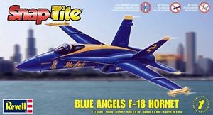 REVELL 85-1185 1/72 Snap F-18 Blue Angel